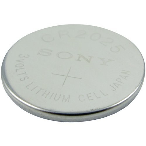 Lenmar Coin Cell Battery Replaces OEM Sony CR2025 Timex FA