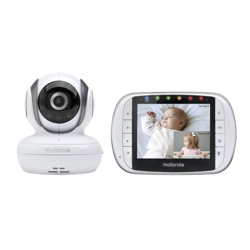 Motorola Remote Wireless Split Screen Video Monitor - MBP36S