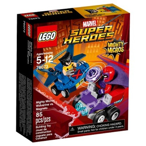 LEGO Marvel Super Heroes Mighty Micros: Wolverine vs. Magneto (76073)