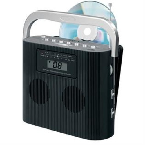 Jensen Stereo CD Player with AM/FM Vertical Loading CD Player