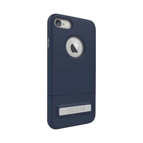 Seidio - SURFACE Case for Apple iPhone 7 - Gray/Midnight blue