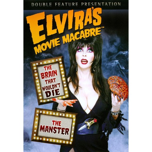 Elvira's Movie Macabre: The Brain That Wouldn't Die/The Manster [DVD]