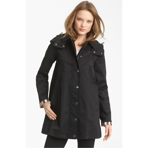 BURBERRY BRIT 'Bowpark' Raincoat With Liner