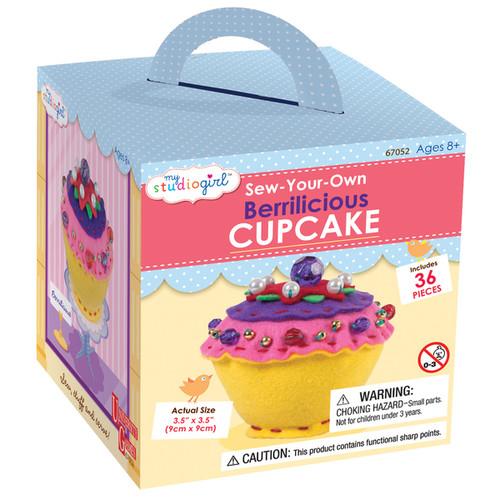 My Studio Girl Sew-Your-Own Berrilicious Cupcake
