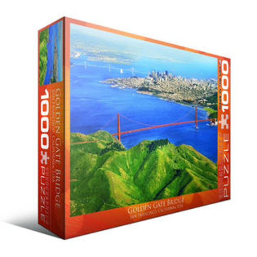 EuroPuzzles Eurographics Inc Golden Gate Bridge, San Francisco, California, USA 1000-piece Puzzle