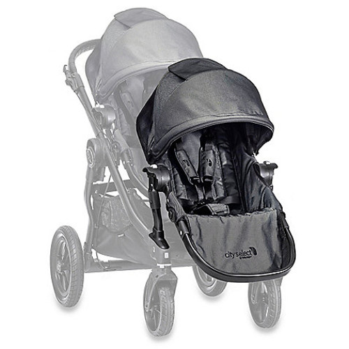 Baby Jogger City Select Black Frame Second Seat Kit in Charcoal