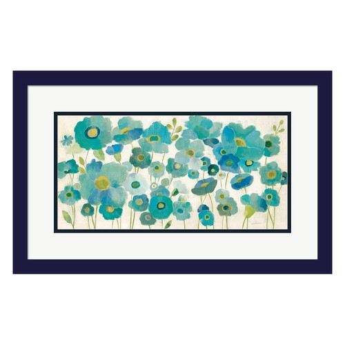 Metaverse Art Floral Lace Framed Wall Art