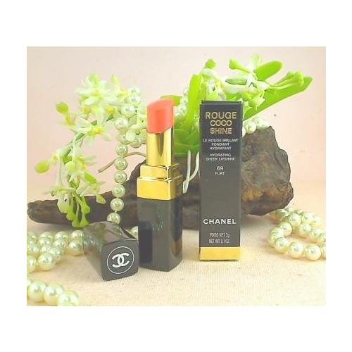 Chanel Rouge Coco Shine Hydrating Sheer Lipshine 69 Flirt