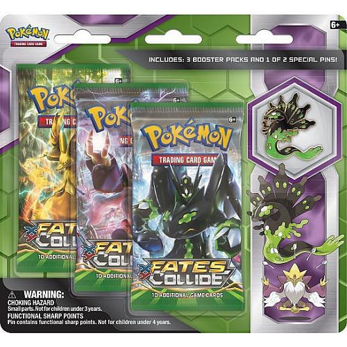 Pokemon Zygarde Alakazam Pin Blister Trading Card Game