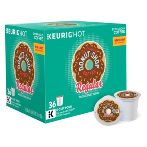Keurig Donut Shop Medium Roast Coffee K-Cup pods 36ct