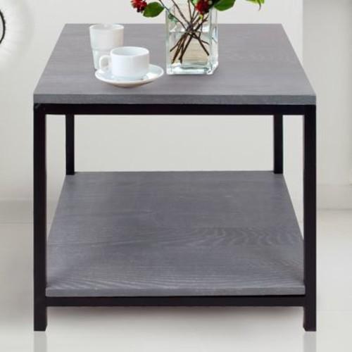 American Trail Studio End Table; Gray Wash