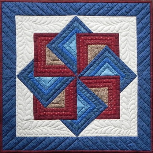 Starspin Wall Quilt Kit22inX22in