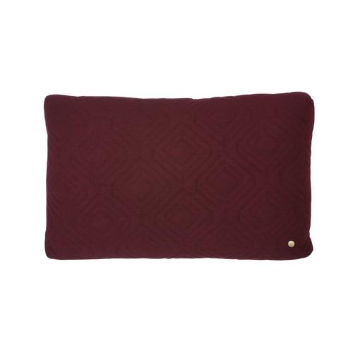 16 x 24 Quilt Cushion in Bordeaux design by Ferm Living