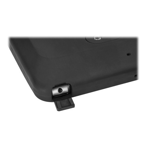 Kensington SecureBack Rugged Carry Case - Back cover for tablet - black - for Apple 9.7-inch iPad; iPad Air; iPad Air 2 (K97908WW)