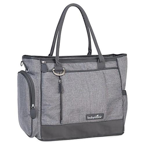 babymoov Essential Diaper Bag in Heather Grey