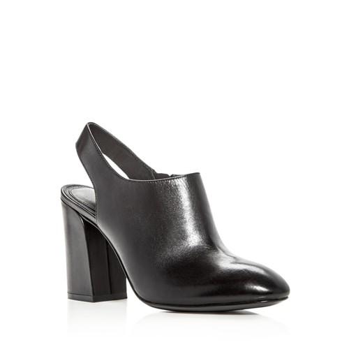MICHAEL KORS COLLECTION Clancy Leather High Heel Booties