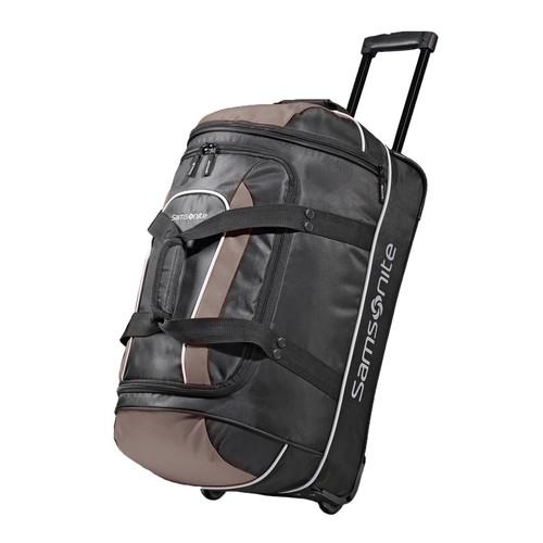 Samsonite Luggage 22 Inch Andante Wheeled Duffel [Black/Grey]