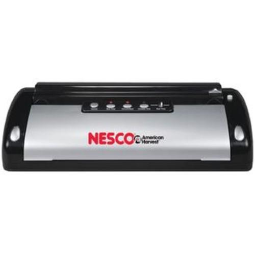 Nesco(R) VS-02 Vacuum Sealer (130-Watt; Black & Silver)