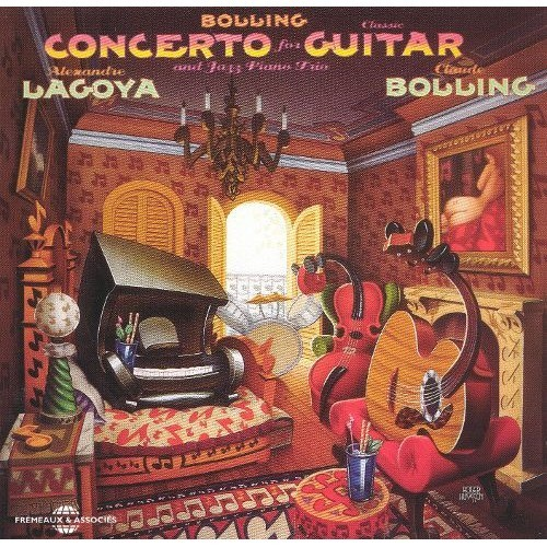 Bolling: Concerto for Classical Guitar & Jazz Piano [CD]