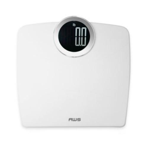 American Weigh Scales Luma Digital Bathroom Scale in White