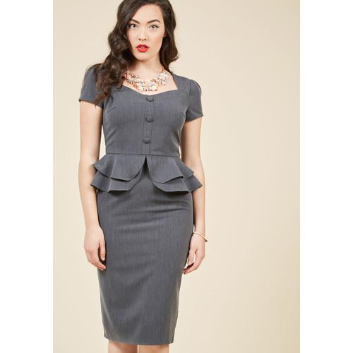 Pinup Stunner Sheath Dress