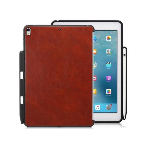 iPad Pro 10.5 Companion With Pen Holder - Leather Brown