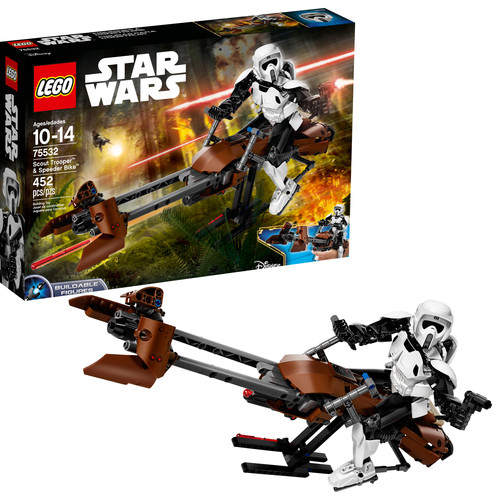 LEGO Constraction Star Wars Scout Trooper & Speeder Bike 75532