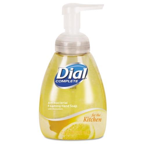Dial Professional Antimicrobial Foaming Hand Soap, Light Citrus, 7.5oz Pump Bottle | PJP Marketplace