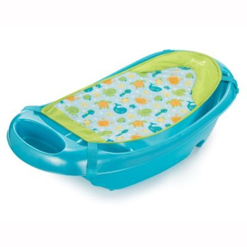 Summer Infant Splish 'n Splash Newborn to Toddler Bath Tub in Blue