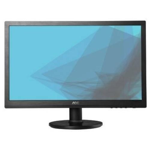 AOC e2260Swdn 22 Widescreen LED Monitor 16:9 5ms 1920x1080 200 Nit DVI/VGA Black