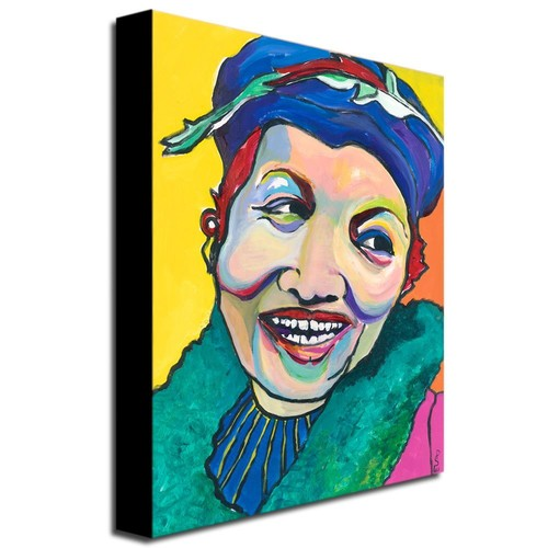 Koko Vivienne by Pat Saunders-White, 18x24-Inch Canvas Wall Art [18 by 24-Inch]