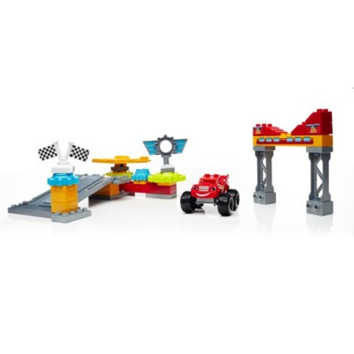 Mega Bloks Nickelodeon Nickelodeon Blaze and the Monster Machines Axle City Garage Set