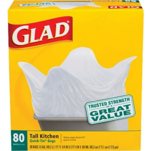 Glad Trash Bags, Assorted Sizes and Designs