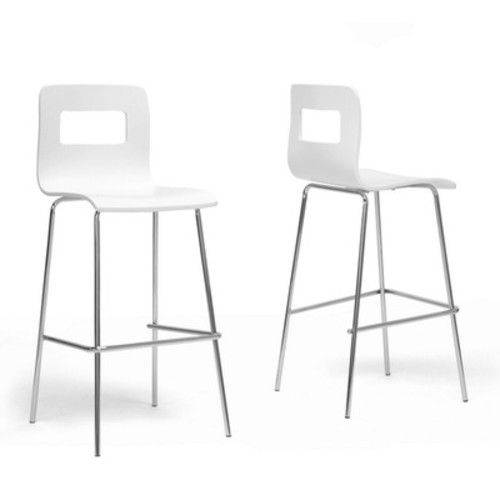 Baxton Studio Greta Modern Bar Stools - Set of 2
