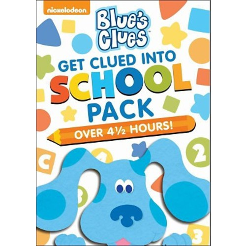 Blue's Clues: Get Clued Into School Pack [3 Discs]