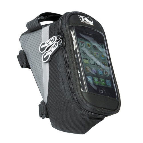 Ventura Rotterdam Smartphone Top Tube Bag in Black