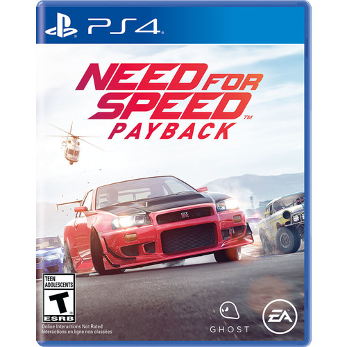 Need for Speed Payback, Electronic Arts, PlayStation 4, 014633735222