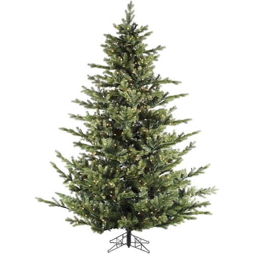 Fraser Hill Farm 9 ft. Pre-Lit LED Foxtail Pine Artificial Christmas Tree with 1250 Multi-Color String Lights