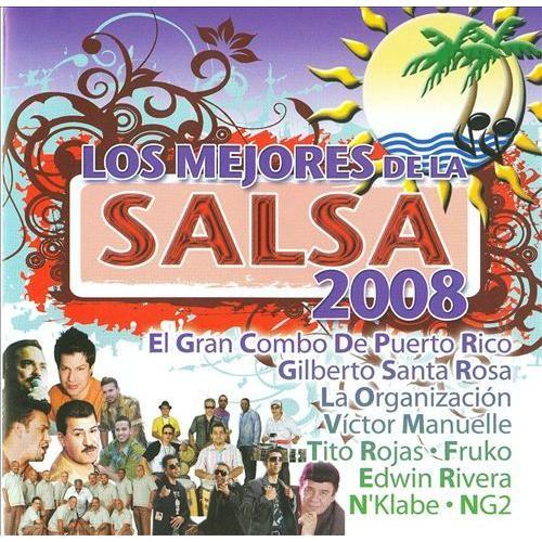Los Mejores de La Salsa 2008 [CD]