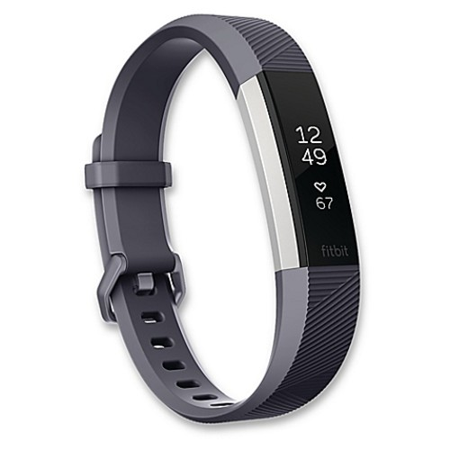 Fitbit Alta HR Large Fitness Wristband in Blue/Grey