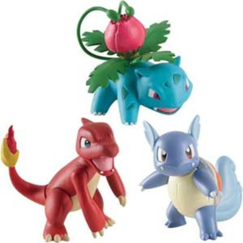 Tomy Pokemon Action Pose Figure - 3/Pack