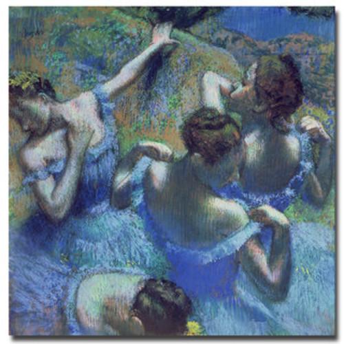 Edgar Degas 'Blue Dancers 1899' 35