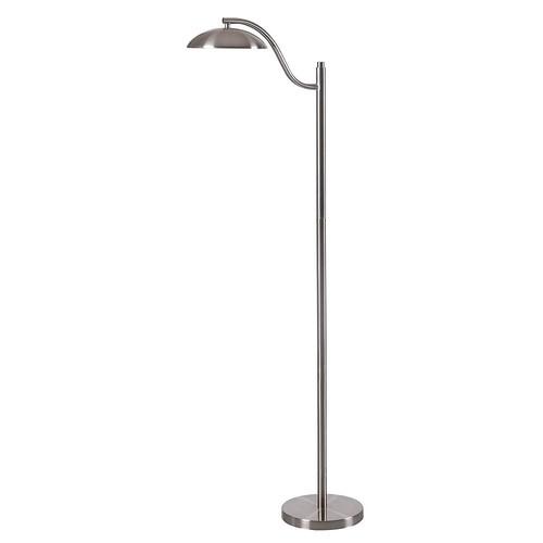 Kenroy Home 32639BS Crescent Floor Lamp, Brushed Steel Finish [Brushed Steel Finish]