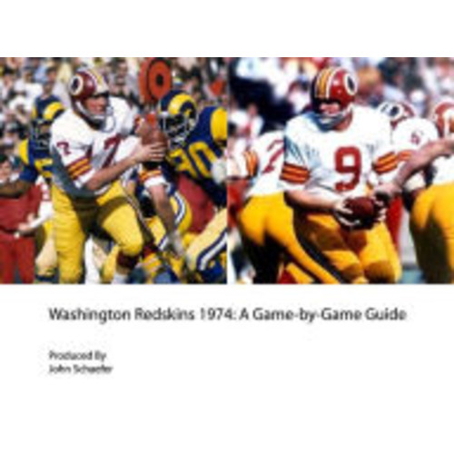 Washington Redskins 1974: A Game-by-Game Guide