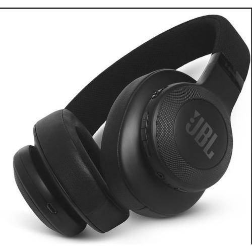 JBL E55BT On-Ear Wireless Headphones (Black)