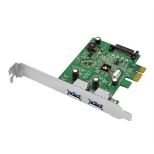 SIIG JU-P20B12-S1 - USB adapter - PCI Express 3.0 x1 low profile - USB 3.1 x 2