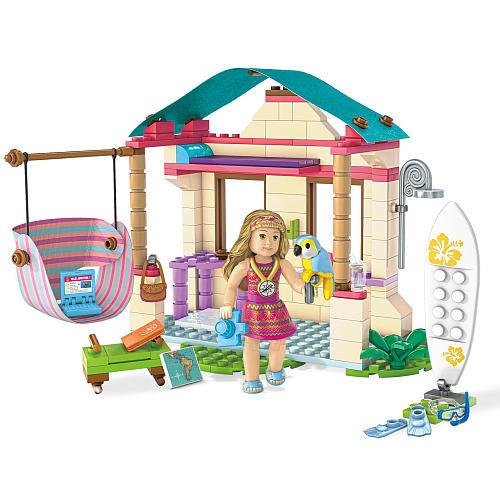 Mega Construx American Girl Lea's Beach Hut Playset