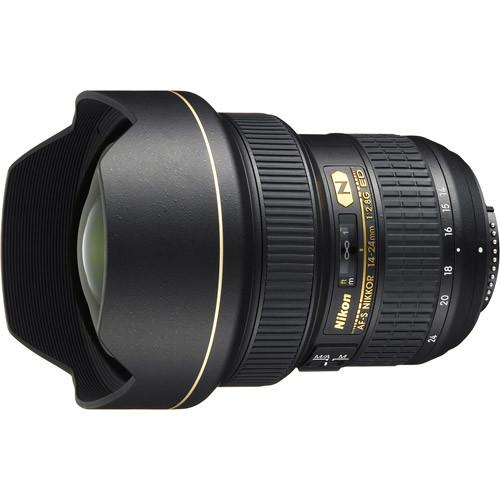 Nikon - AF-S NIKKOR 14-24mm f/2.8G ED Ultra-Wide Zoom Lens - Black