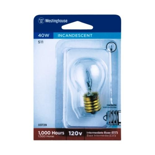 Westinghouse 40 watts Globe Light Bulb (03729)