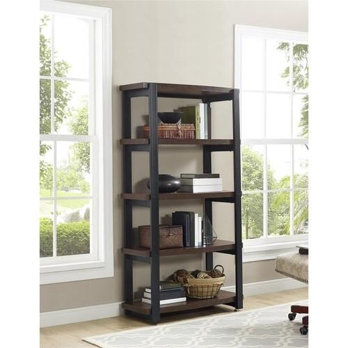 Ameriwood Home Castling Espresso/ Black Bookcase